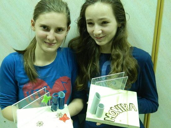 Tehniški dan v 7. razredu  – izdelava stojala za kartice in svinčnike