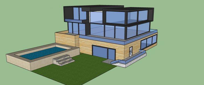 Tehniški dan v 9. a razredu – Načrtovanje sanjske hiše