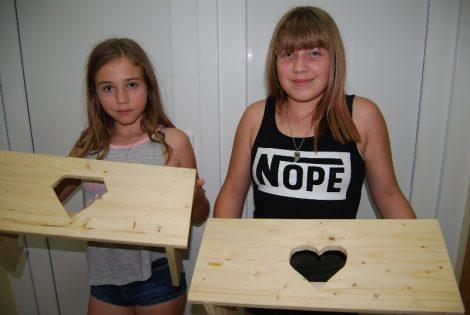 Tehniški dan v 7. razredu- izdelava pručke